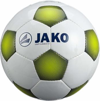 jako-ball-light-classico-30-2308-groesse-5-farbe-weiss-night-lime-350g
