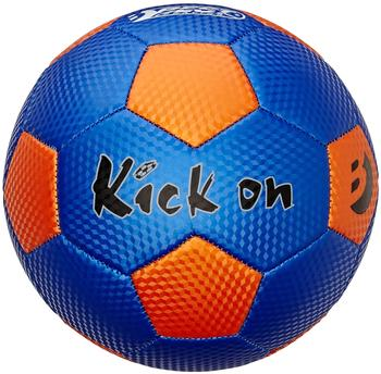 BEST Fußball Kick On Trainingsball Spielball blauorange