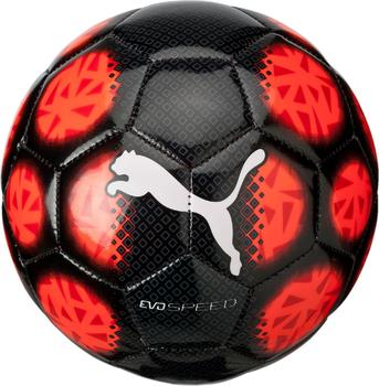 Puma evoSPEED 5.5 Fade Mini Ball puma black/red blast/puma white