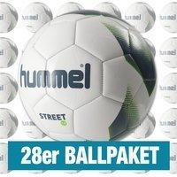 Hummel 1.0 Street 28er Ballpaket weiss grau