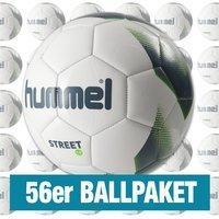 Hummel 1.0 Street 56er Ballpaket weiss grau