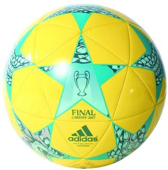 adidas Finale CDF CAP Fußball bright-yellow-clear-aqua-energy-blue 5