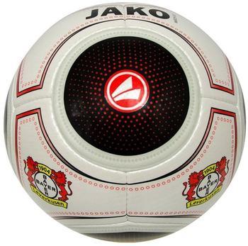 Jako Bayer 04 Leverkusen Ball Fanball Match schwarz/rot 5