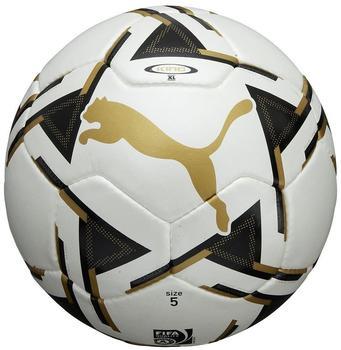 Puma King Match 5 white/black/team gold