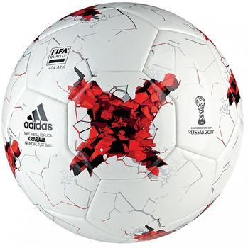 adidas Fußball, CONFED CUP Artificial Turf white/bright red/red/blac