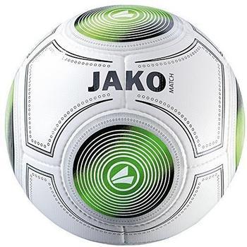 Jako Trainingsball Match weiss/schwarz/grün 4