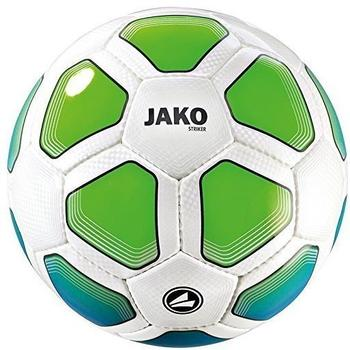 Jako Trainingsball Striker weiss/JAKO blau/neongrün