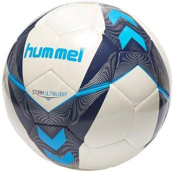 Hummel Storm Ultra Light FB Handball, Weiß/Vitange Indigo/Turquoise, 4