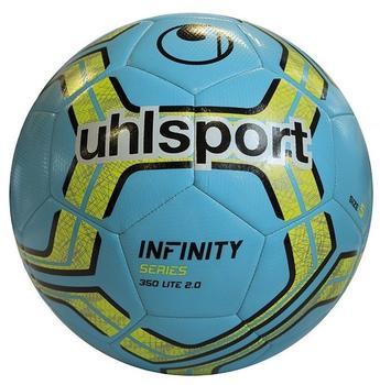 Uhlsport Infinity 350 Lite 2.0 eisblau/fluo gelb/schwarz (Größe: 5)
