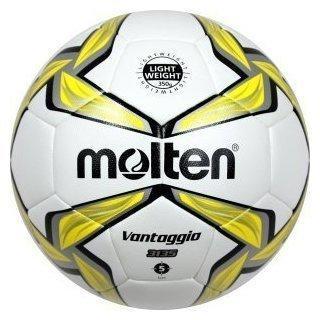 Molten Fußball Leichtball 350g weiß/gelb 5