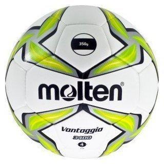 Molten Fußball Leichtball 350g weiß/grün 4