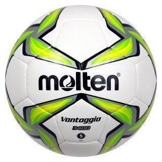 Molten Fußball Trainingsball weiß/grün 5