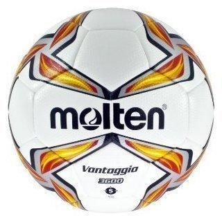 Molten Fußball Trainingsball weiß/rot 5