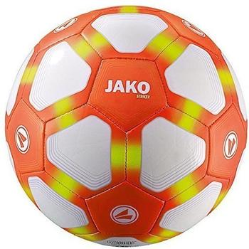 Jako Lightball Striker Ball, weiß/neonorange/neongelb-350g 5