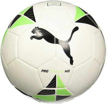 Puma Pro Training MS ball puma white-green gecko-puma Black, 5