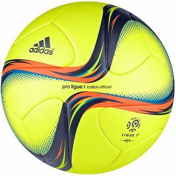 adidas PROLIGUE1 OMB Spielball Frankreich Winterball neongelb
