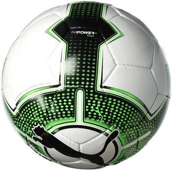 Puma evoPOWER 5.3 Futsal puma white/green gecko (Größe: 3)