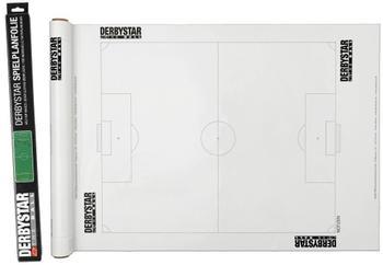 Derbystar Spielplanfolie Fußball weiß