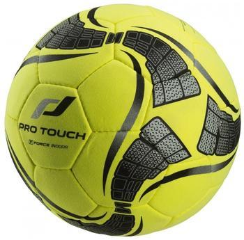 Pro Touch Fußball Force Indoor Ball, Gelb/Schwarz/Rot, 4