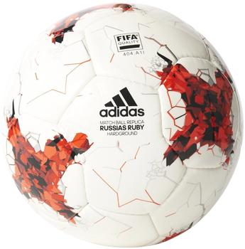 adidas Fußball CONFED Cup Hardground - white/bright red/red/black | 5