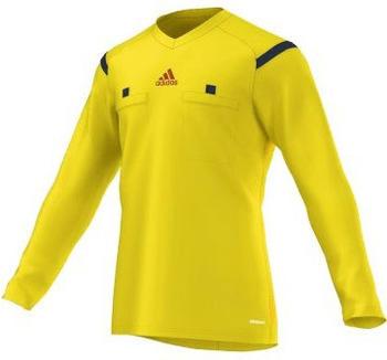 Adidas Referee 14 langarm gelb