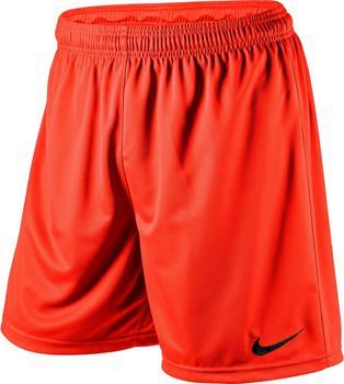 Nike Park Dri-Fit Knit Shorts safety orange