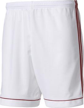 Adidas Squadra 17 Shorts weiß/rot