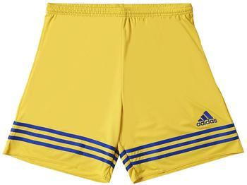 Adidas Entrada 14 Shorts Kinder gelb