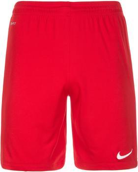 Nike League Knit Shorts rot/weiß