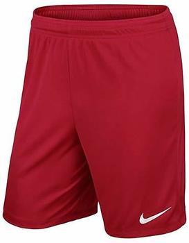 Nike Park II Shorts Kinder rot
