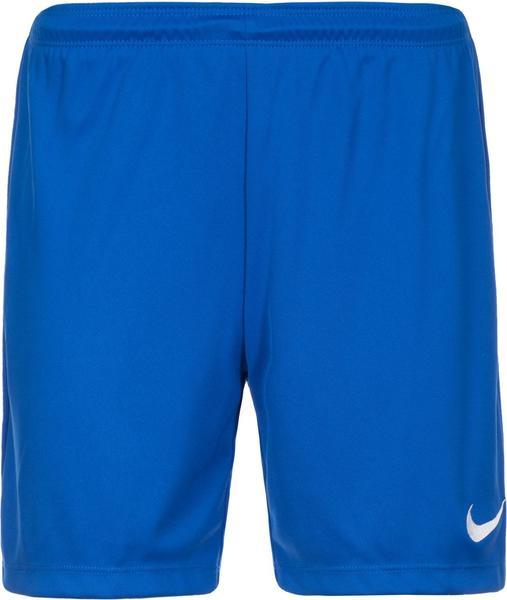 Nike Park II Knit Shorts Damen blau