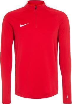 Nike Dry Squad 17 Drill Longsleeve university red/white