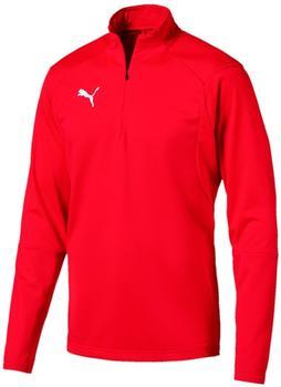 Puma Liga Training 1/4 Zip Top puma red/puma white