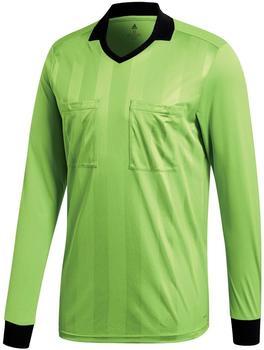 Adidas Referee 18 Trikot Langarm semi solar green