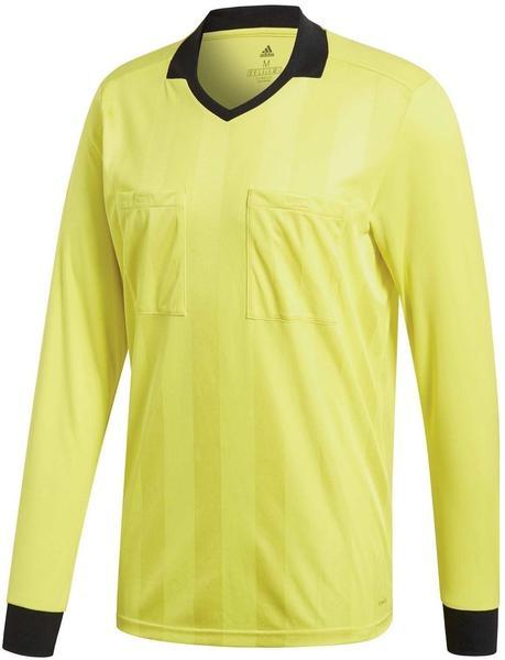 Adidas Referee 18 Trikot Langarm shock yellow