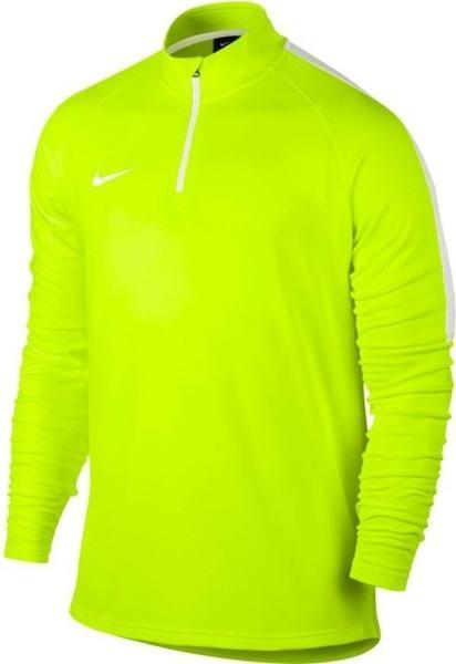Nike Dri-FIT Academy Fußballoberteil mit Kurzreißverschluss volt/white