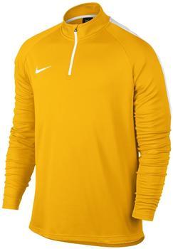 Nike Dri-FIT Academy Fußballoberteil mit Kurzreißverschluss laser orange/white