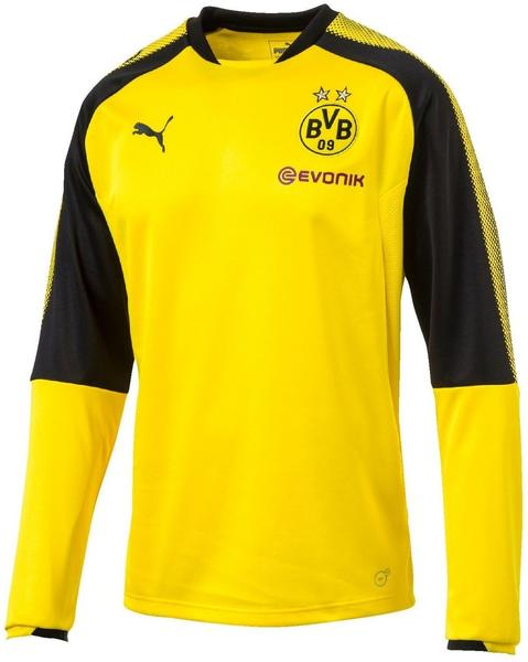 Puma BVB Training Sweater 2017/2018 cyber yellow/puma black