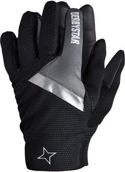 Derbystar Spielerhandschuhe schwarz/grau