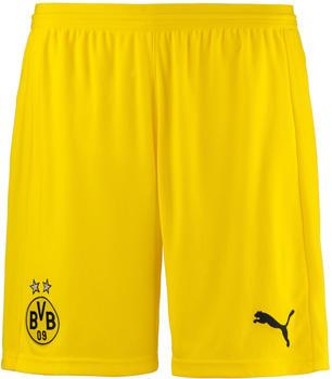 Puma Borussia Dortmund Home Shorts Replika 2018/2019 gelb