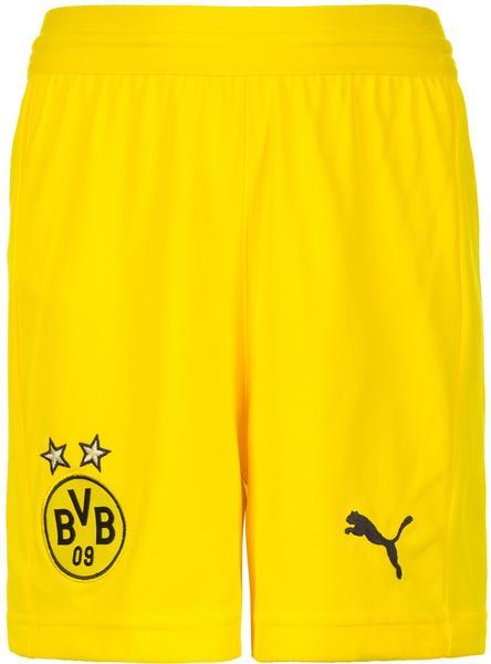 Puma Borussia Dortmund Home Shorts Replika 2018/2019 Kinder gelb