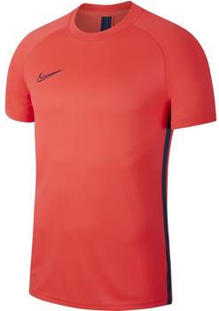 Nike Dri-FIT Academy Football Short-Sleeve Top laser crimson/laser crimson/valerian blue/valerian blue