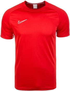 Nike Dri-FIT Academy Football Short-Sleeve Top university red
