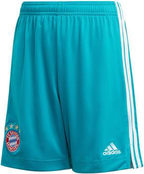 Adidas FC Bayern München Heim Torwart Shorts Kinder 2021