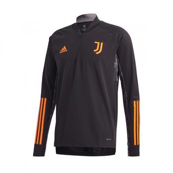 Adidas Juventus Ultimate Training Top 2020/2021 black/app signal orange