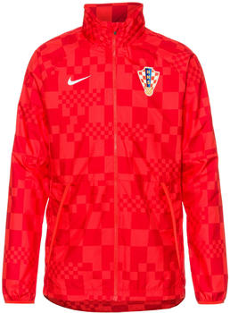 Nike Water-Repellent Football Jacket Croatia (CN7065) light crimson/white