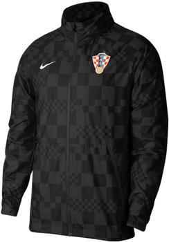 Nike Water-Repellent Football Jacket Croatia (CN7065) black/black/black/white