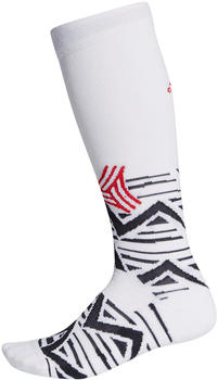 Adidas Football Alphaskin Graphic Cushioned Socks white/black/scarlet (FI9349)
