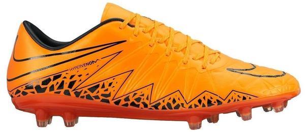 Nike Hypervenom Phinish II FG total orange/black/total orange