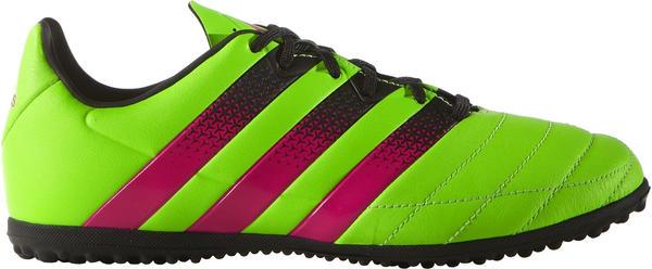 Adidas Ace 16.3 TF J solar green/shock pink/core black